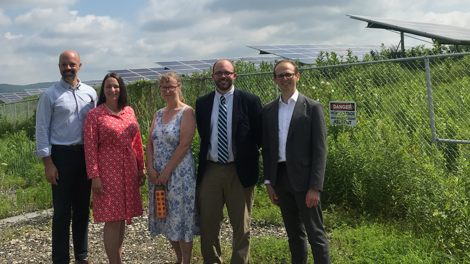 Together with Pittsfield Mayor Linda Tyer and State Senator Adam Hinds, we celebrated local progress on solar energy in the Berkshires.